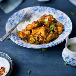 Chicken in Hot Garlic Sauce (IndoChinese).