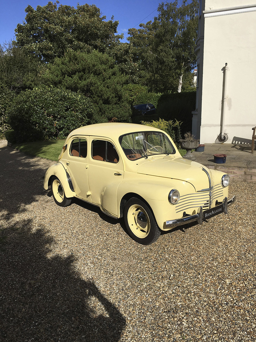 Renault 4cv Hire Tunbridge Wells