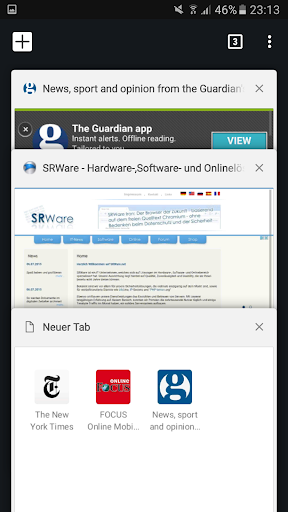 iron browser - by srware screenshot 3