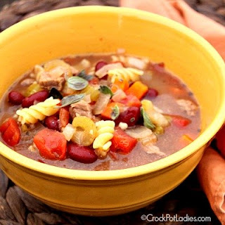 Crock-Pot Zesty Italian Soup
