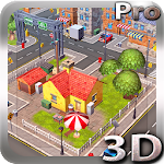 Cartoon City 3D live wallpaper Icon
