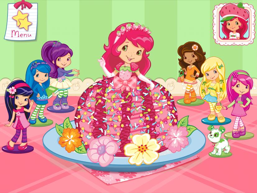 Strawberry Shortcake Bake Shop Android App Screenshot