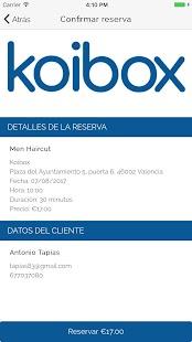 Koibox - náhled