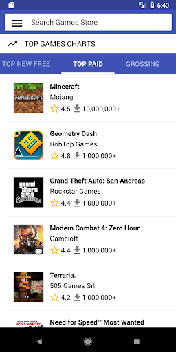 Games Store App Market 1.7 screenshots 8