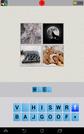 What word 4 pics