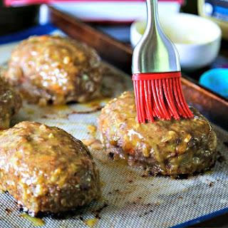 Turkey Mini Meatloaf with Honey Dijon Glaze.