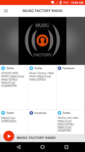 MUSIC FACTORY RADIO- screenshot thumbnail
