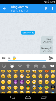 Kontalk Messenger - screenshot
