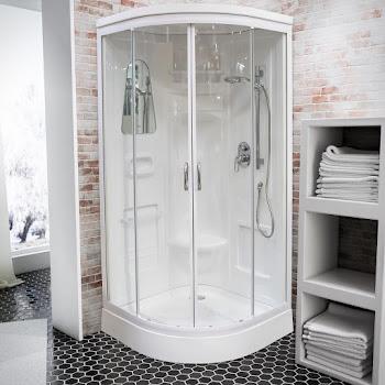 Cabine de douche intégrale Helgoland III 90 x 90 cm