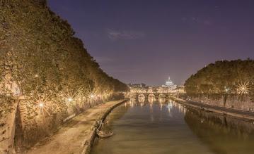 Photo: The Tiber River, Rome, Italy