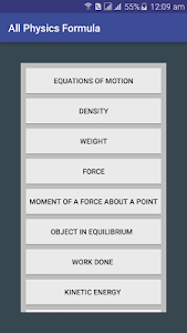 All Physics Formula- Learn Physics formulas 6.0 (Ad-Free)