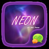 (FREE) GO SMS NEON THEME
