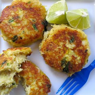 Cod Fish and Yuca Cakes