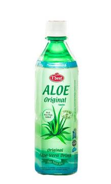 Agua T´BEST Aloe Vera   Original Taste x500ml.