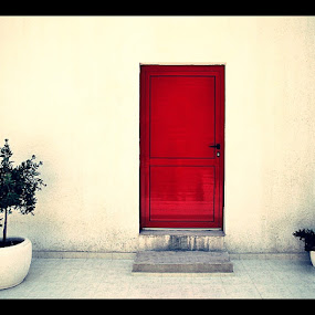 Red doors... by Zvonimir Cuvalo - Artistic Objects Other Objects