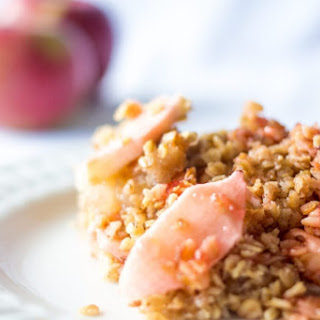 The Most Delicious Apple Crumble.
