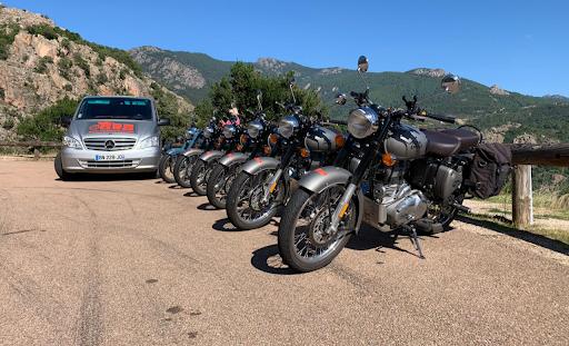 Corse à moto avec France Moto Voyages