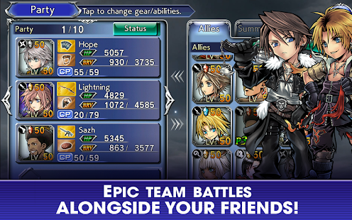 Game DISSIDIA FINAL FANTASY OPERA OMNIA APK for Windows Phone