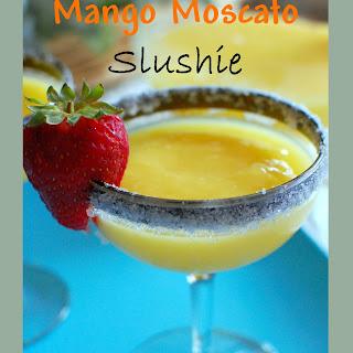 Mango Moscato Slushie