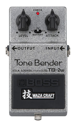 BOSS TB-2W Tone Bender Waza Craft