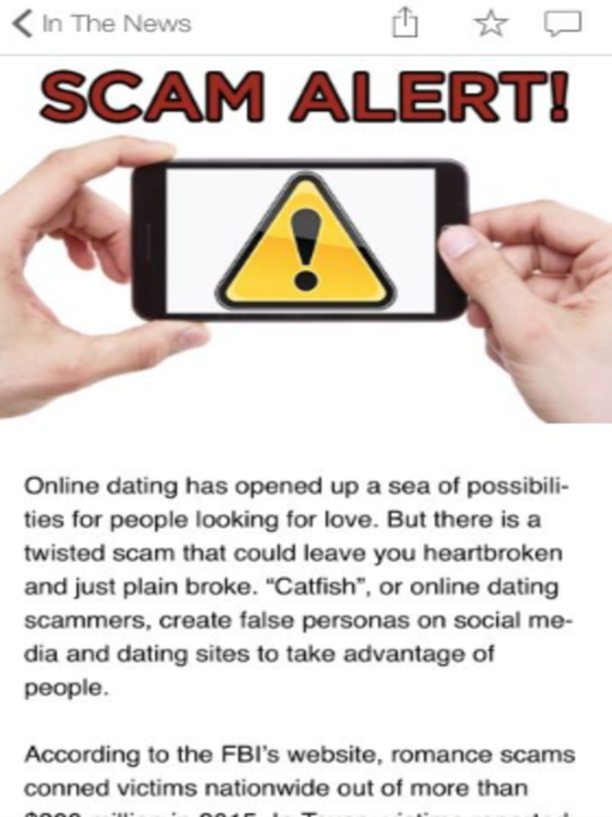 Dating Scams 101- screenshot