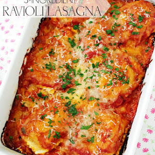 3-Ingredient Ravioli Lasagna