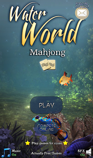 Hidden Mahjong: Water World