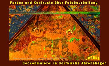 Photo: Deckenmalerei in unseren Dorfkirchen