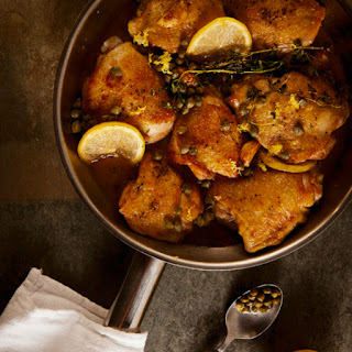 Zesty Braised Chicken with Lemon and Capers
