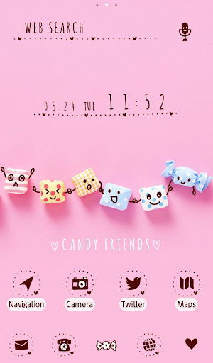 Sweets WallpaperCandy Friends 1.0.0 screenshots 5