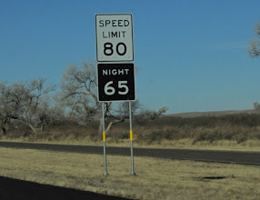 Photo: Not that it would ever occur to me to travel at eighty miles per hour, but it's nice to have the option =)