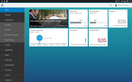 SAP Cloud for Customer extend