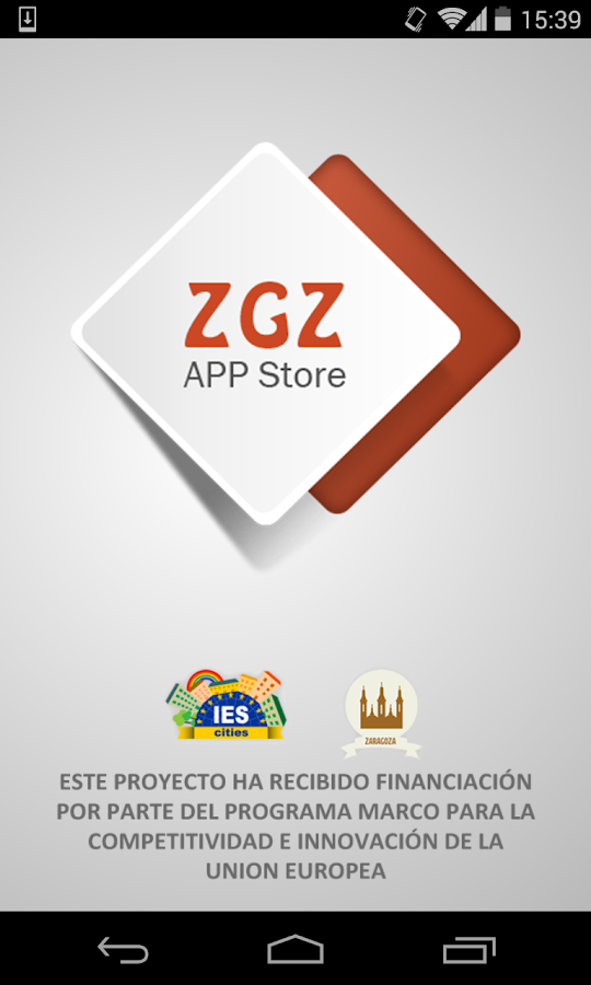 Zaragoza App Store- screenshot