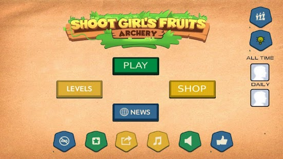 Shoot Girl's Fruits : Archery- screenshot thumbnail