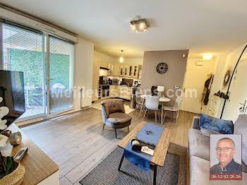 Appartement meublé 2 pièces 43,73 m2