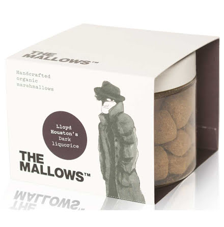 Dark Liquorice - Marshmallow med lakrits – The Mallows