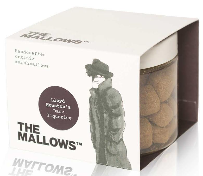 Dark Liquorice - Marshmallow med lakrits – The Mallows