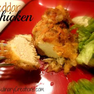 Moist Cheddar Chicken.