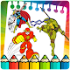 Superhero dc Coloring pages (game)