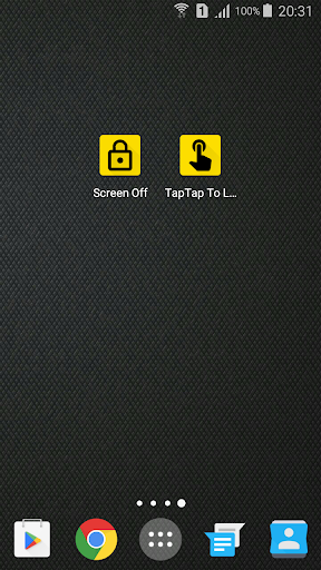 Double Tap Screen Off and Lock