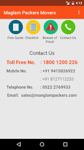 Manglam Packers & Movers- screenshot thumbnail
