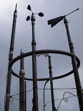 Photo: Weather Instruments, Mount Washington Weather Observatory, White Mountains, New Hampshire