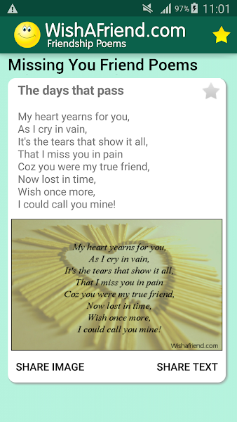 True Friendship Poems & Cards: Pictures For Status