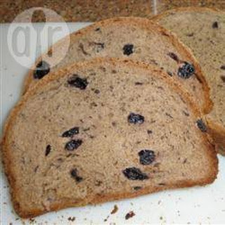 Blueberry Bread with Breadmaker