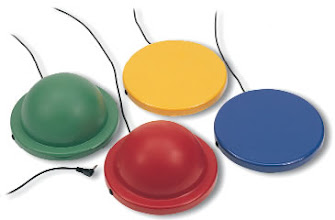 Photo: dome and disc switches by QED