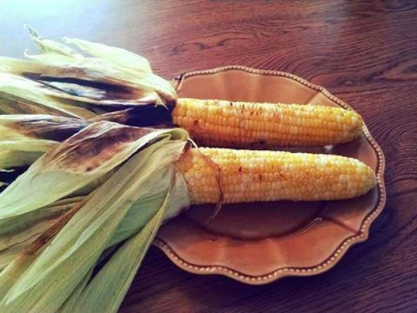 Fair Style Grilled Corn On The Cob Recipe