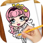 Learn to Draw Ever After Class