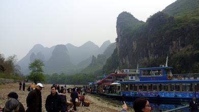 Photo: Start of the Li River tour