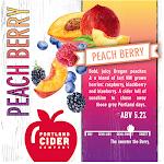 Portland Cider Peach Berry