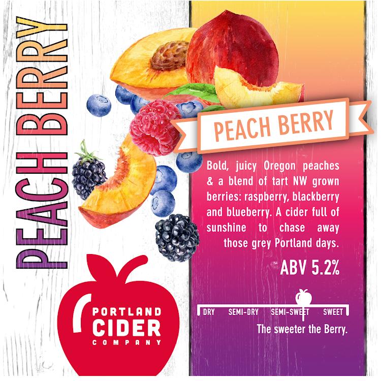 Logo of Portland Cider Peach Berry